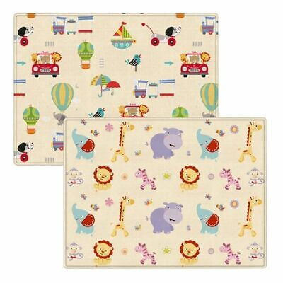Play Mat Baby Crawling Pad Waterproof Soft Non Slip Warm Cool Double Sided Print