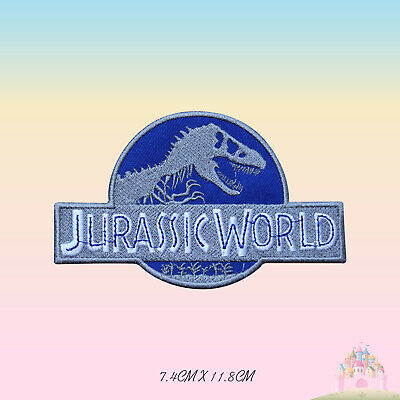 GEN Jurassic Park Embroidered Iron on Sew on PatchBadge For Clothes Bags etc