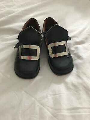 Vintage Scotchhouse Childrens Kilt Shoes Boys Size 7