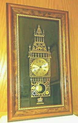 STUNNING VINTAGE London Big Ben England Wall Clock UK HAND MADE Gift Home Decor