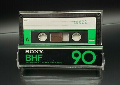 (Used) Sony BHF 90 Blank Audio Cassette Tape Type I Normal Position Japan