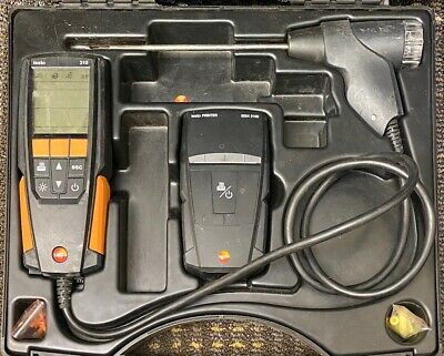 Testo 310 Combustion Analyzer *Used*