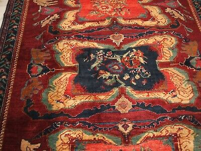 Old Karabagh Russian Rug Dated Tapis Russe Vieux Tapetto Vecchio Karabach