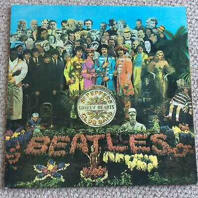 THE BEATLES Sgt. Peppers LP UK 1st Press Parlophone MONO PMC 7027