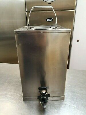 Bartlett Multipot tea and coffee making urn, Heavy stainless steel, 2.5gl approx