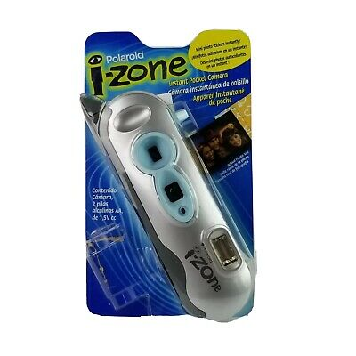 Polaroid I-Zone Instant Pocket Camera  Silver Edition IZONE NIP NEW 2000