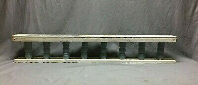 Small Antique Victorian Porch Gingerbread Spindle Span Architect 9x52 342-20B