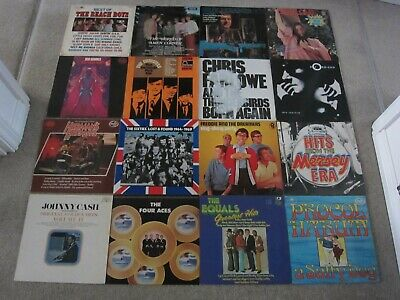 JOB LOT COLLECTION ~ 60s POP PSYCH ROCK BEAT ~ LP RECORD ALBUM ** ALL PICTURED**