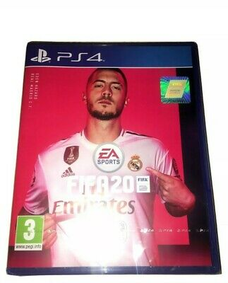 UK ONLY PS4 New Sealed FIFA 20 2020 PlayStation 4 Console Game