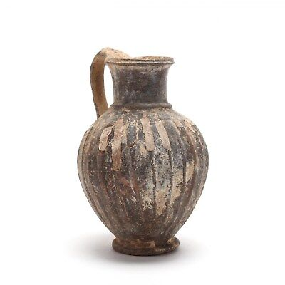 Authentic Antiquity Cypriot Late Bronze Age Jug circa 1500 B.C.