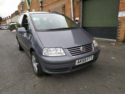 2009/59 Volkswagen Sharan - Automatic -  Starts & Drives - Spares Or Repair!!