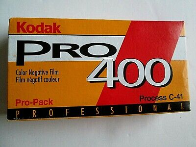 KODAK Pro 400 / 120 Color Negative Film 5 Roll Pro-Pack Expired 1997 Frozen NOS