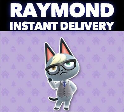 Animal Crossing New Horizons RAYMOND Villager! (INSTANT Delivery)