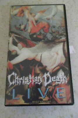 Christian Death Live Rozz Williams.