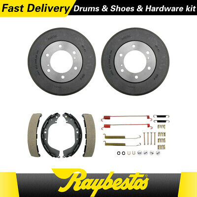 Centric Rear Premium Brake Drum/&Premium Shoe 3PCS For 2000-2004 for Xterra