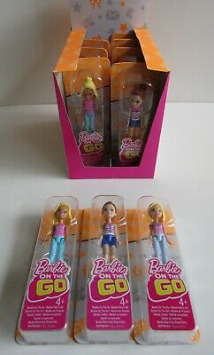 Barbie On The Go Dolls X10, Brand New In Box