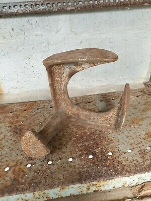 Vintage Cast Iron Metal Cobblers Shoe Anvil Last Tool Door Stop