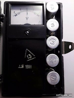 Voltmeter accumulator M2033  quality mark made in the USSR