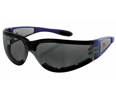 Lunettes Bobster Moto-Scooter-Shield Ii Bleu/Fumee-2610-0300