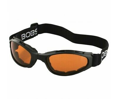Lunettes Bobster Moto-Scooter- Crossfire Folding-Ambre-2601-0733