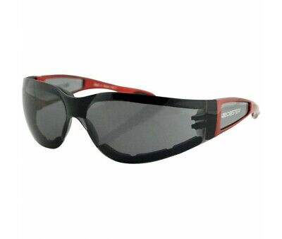 Lunettes Bobster Moto-Scooter-Shield Ii Rouge/Fumee-2610-0301