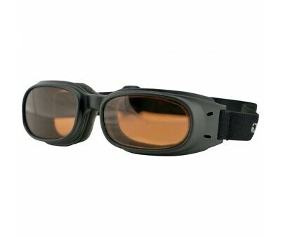 Lunettes Bobster Moto-Scooter- Piston-Ambre-2601-0879