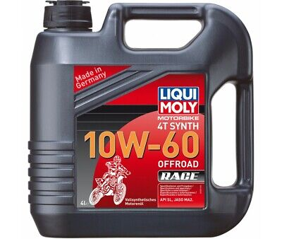 Huile 4 Temps 4 Litres Synthese 10W60 Off Road Race Liqui Moly-3054
