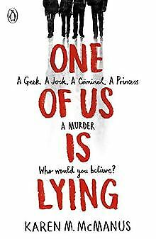 One Of Us Is Lying by McManus, Karen | Book | condition very good