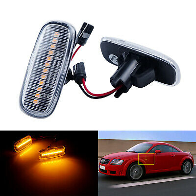 VOLVO 850 LW /& LS 94-96 FRONT LEFT INDICATOR REPEATER LAMP LIGHT LENS 6817027