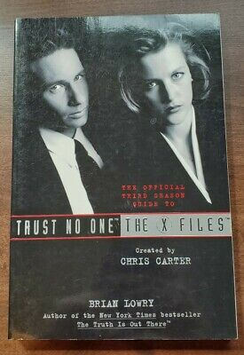 THE X-FILES POSTER ~  TRUST NO ONE COLLAGE 23x35 TV Agent UFO Want To Believe