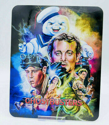 GHOSTBUSTERS - Glossy Fridge / Bluray Steelbook Magnet Cover (NOT LENTICULAR)