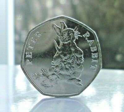 .Beatrix Potter Peter Rabbit 50p  Fifty Pence Coin Hunt 2018,from sealed bag.