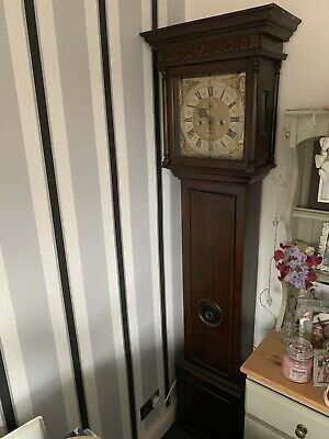 Early Rare John Whitehurst Congleton Derby Longcase Grandfather Tall Case Clock