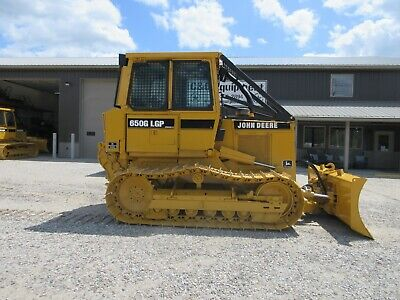 1999 John Deere 650G Ex Government Forestry Dozer with WINCH Cab Low hours!