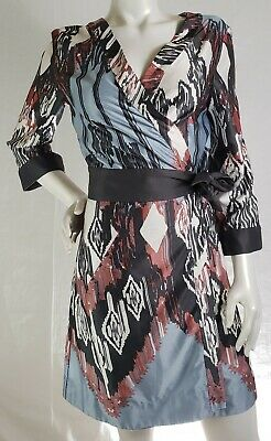 Anthropologie Eloise Women's S/M Kimono Wrap Robe Japanese