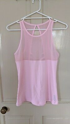 Lorna Jane Light Pink Tank Size Medium