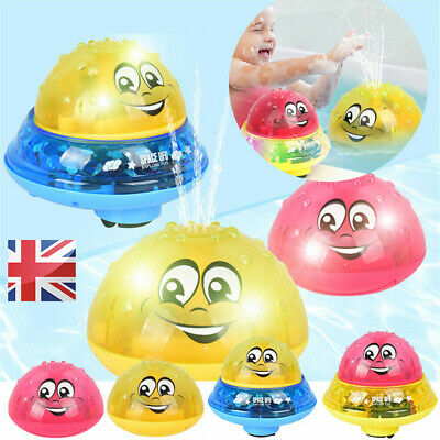 Baby Spray Water Bath Toy Automatic Induction Sprinkler Swimming Pool Toy Gift