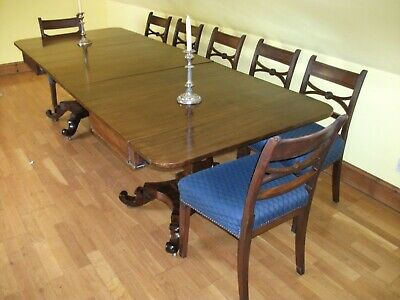 Very Good William Iv  Mahogany Dining Table To Seat 10/12