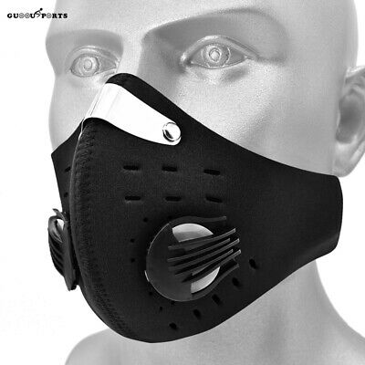 Reusable Face Shield Mouth-Muffle Activated Carbon Filter Anti Pollution Dust