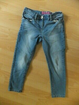 Girls light blue jeans.  Age 8 years PLUS. From Next.