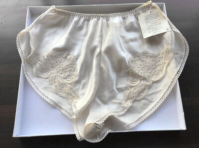 Vintage Wonder Maid FANCY Sexy Lace Trim Silky Satin Remarque Panties NWT