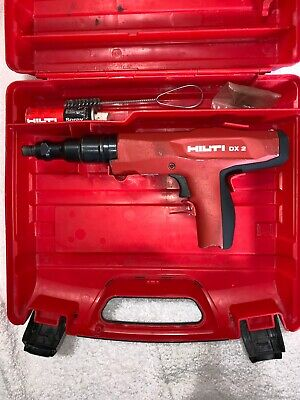 Hilti DX2 Powder actuated fastening tool, Accessories