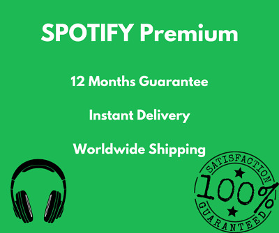 🔥 Spotify Premium | EXISTING or NEW Account | 🎖 12 Months Warranty | 450+ Sold
