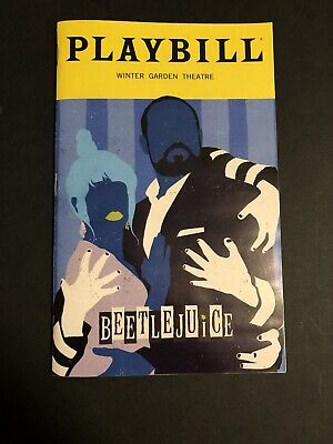 Beetlejuice The Musical Broadway Playbill February 2020 Edition