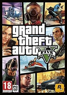GRAND THEFT AUTO 5 GTA V PC STEAM mas bono 40 juegos