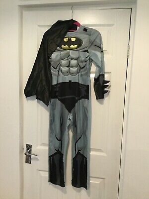 MAN AND CHILDS BATMAN COSTUME.  AGE 9-10 and XL.