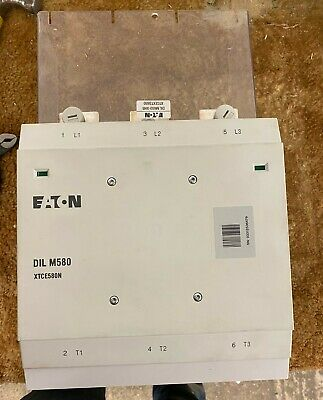 Eaton DIL M580 XTCE58N 580A Contactor