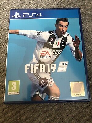 FIFA 19 (PlayStation 4, 2018) UK PAL Excellent Condition