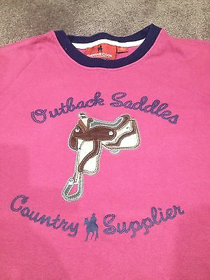 Thomas Cook Boys-Girls, Size 12 Tee - Beautiful Pink colour with saddle, As New