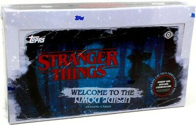 2019 Topps Stranger Things Welcome To The Upside Down Hobby Box Blowout Cards